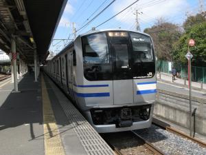 E217系Y124編成