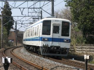 野田線8157F。