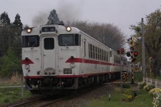 八戸線のキハ40。