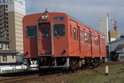 関鉄キハ101、折り返し。