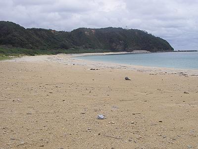 安田の海岸