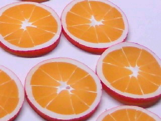 スライスしたオレンジ0001
