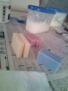 石鹸角切り用