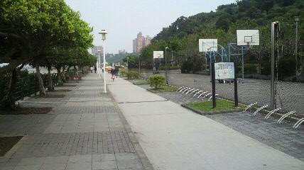 淡水右岸サイクリングロード