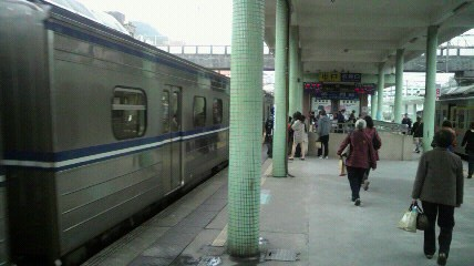 瑞芳駅の月台