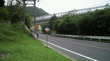 雨沢峠斜度9%