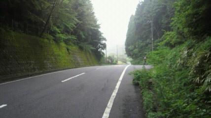 雨沢峠7km終点