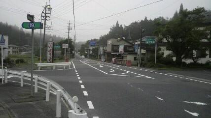 柿野温泉11.5kmポイント