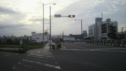 矢田川左岸に合流