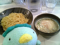 東成きんせいの特製つけ麺