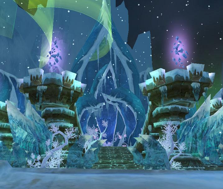 氷 神殿入口