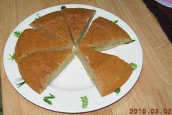 バナナ蒸しケーキ