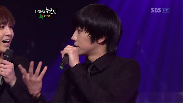 KJE - 20091219 - 2PM, JYP, Kim Ah Joong.avi_002911011