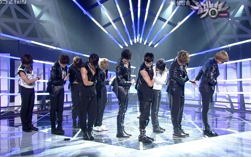 Super Junior - 20100514 - Bad Girl, Bonamana on MB.avi_000359225