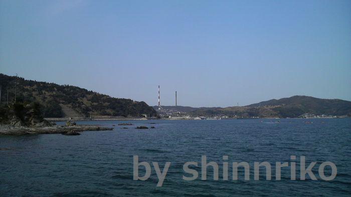 佐賀関の有名な二本の煙突