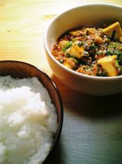 麻婆豆腐でご飯002