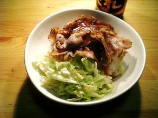 豚ばら肉焼き丼002