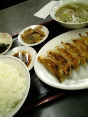 三幸苑餃子セット007