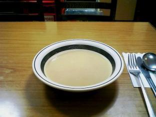 ミツワグリルしょうが焼スープ付003
