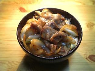 生姜焼き丼001