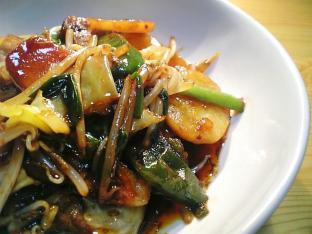 ぴり辛肉野菜バクダン炒め010