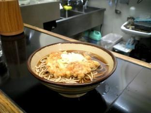 海老名そば天ぷらそば003