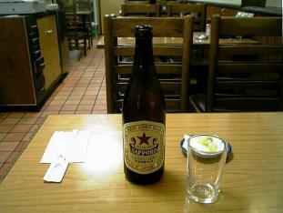 ミツワグリルカツ丼ビール中004