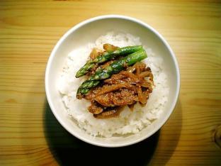 インド風タンドリティカソース丼001
