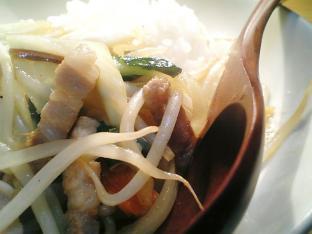 中華オイスターソース野菜炒め丼002