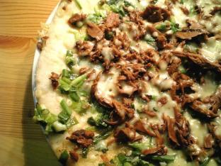 味付け鰹のピザ002
