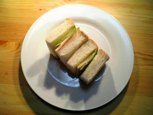 ハムチーズサンド001