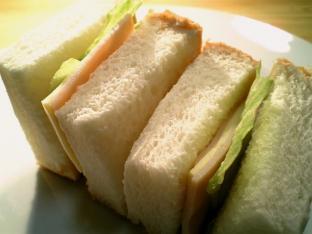 ハムチーズサンド002