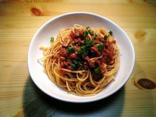 鰹とトマトのスパゲッティ001