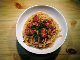 鰹とトマトのスパゲッティ003
