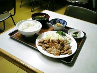 若草食堂朝鮮焼定食004