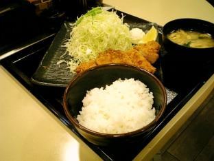 松乃家チキンカツ定食004