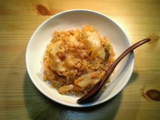 豚キムチ炒飯001