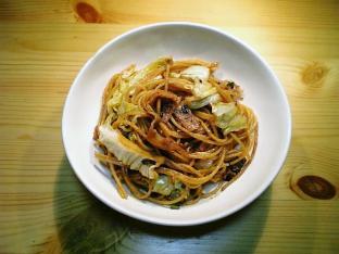 鯛みそで具材入りスパゲッティ001