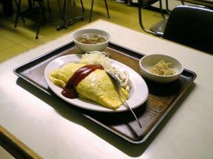 若草食堂オムライス003