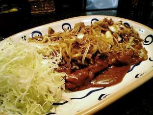 バーグ今週のおすすめねぎ焼豚カレー006