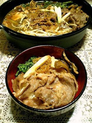 モリタ屋のお肉ですき焼き丼