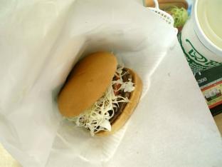 ドムドムサウザン野菜バーガーセット004
