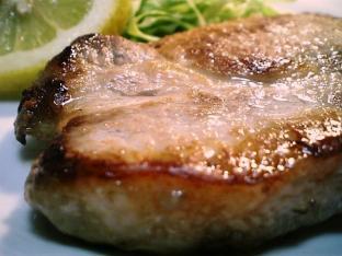 ポークソテーガーリックバター醤油風008