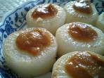 混ぜご飯と柚子味噌大根と大根の葉004