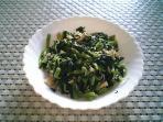 混ぜご飯と柚子味噌大根と大根の葉008