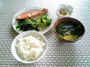 鮭とピーマンの雑魚合え001