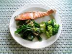 鮭とピーマンの雑魚合え002