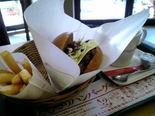 モスとびきりチーズハンバーグサンド006