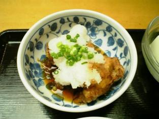 上野昭和通り食堂鶏唐おろしポン酢他011