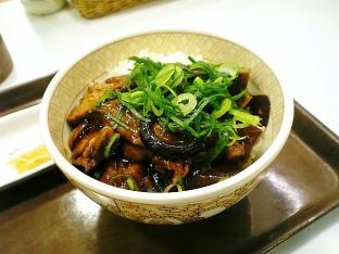 すき屋豚とろ角煮丼並004